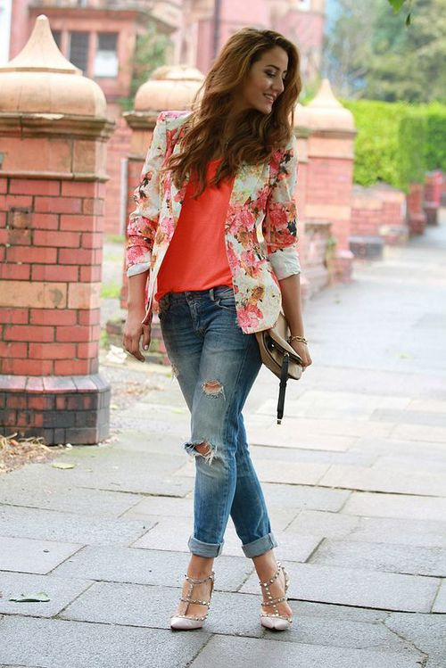 Floral Fashion Trend For This Spring   Via
