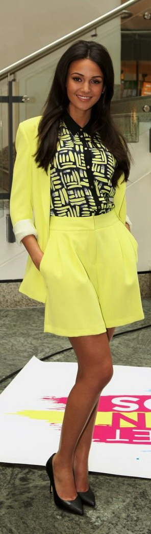 52 Great Michelle Keegan Street Style Outfits @styleestate