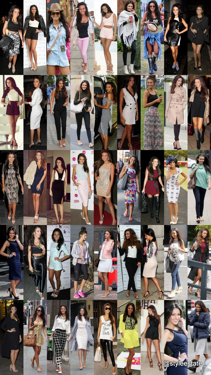 50 Great Michelle Keegan Street Style Outfits @styleestate