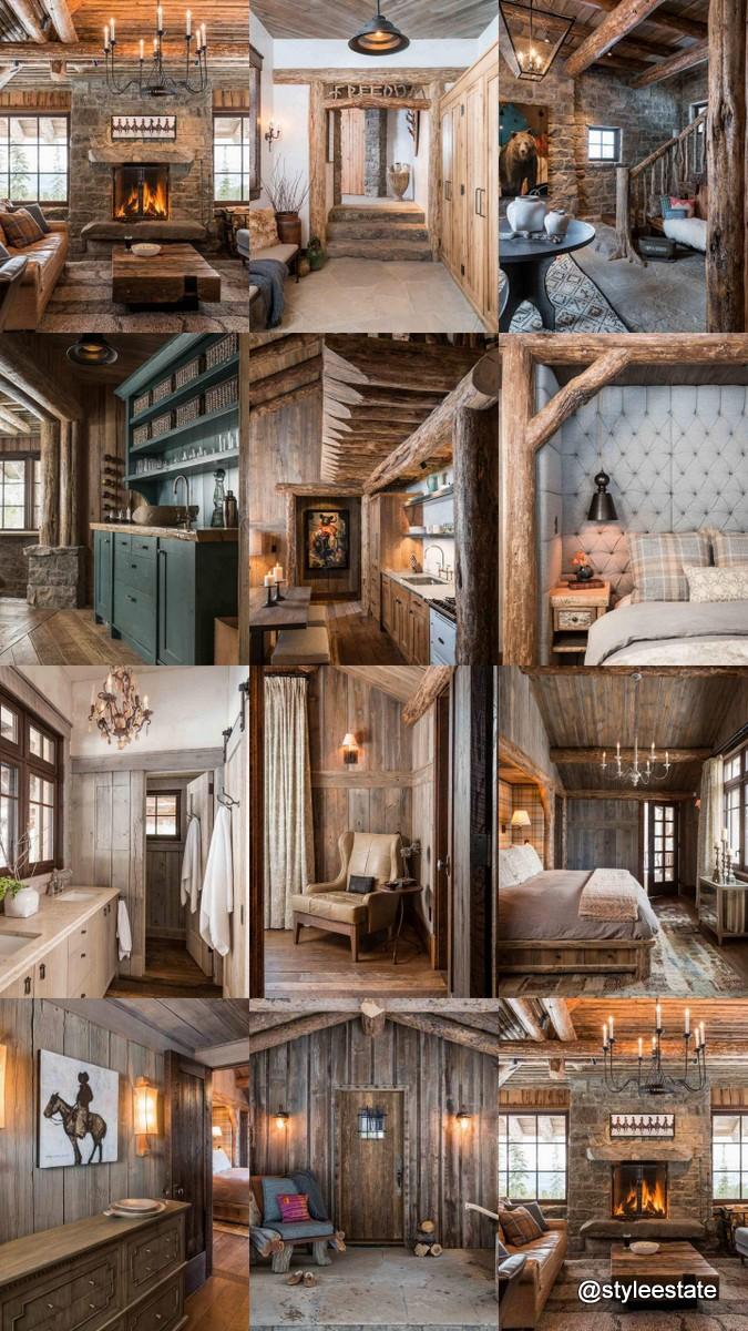 Freedom Lodge, Custom Log Home by Pearson @styleestate