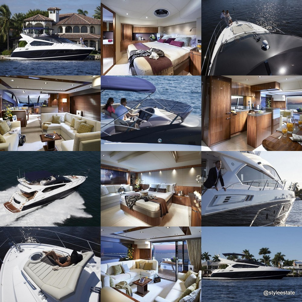 The Sunseeker Manhattan 65 Mid-range Yacht - Style Estate -