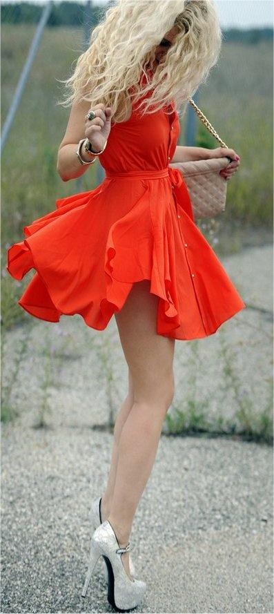 Hair, heels, dress. Hair did, nails did evythang did..