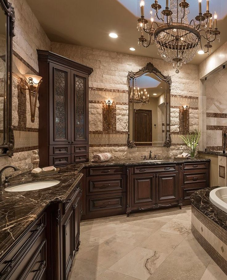 Gorgeous master bathroom for Gorgeous bathroom designs