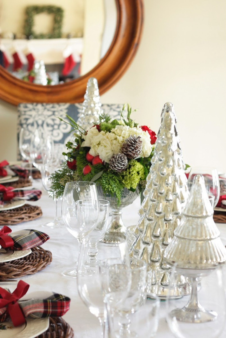 Stunning christmas tablescapes — style estate