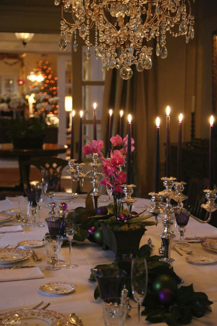50 stunning christmas tablescapes style estate Christmas decorations for the dinner table