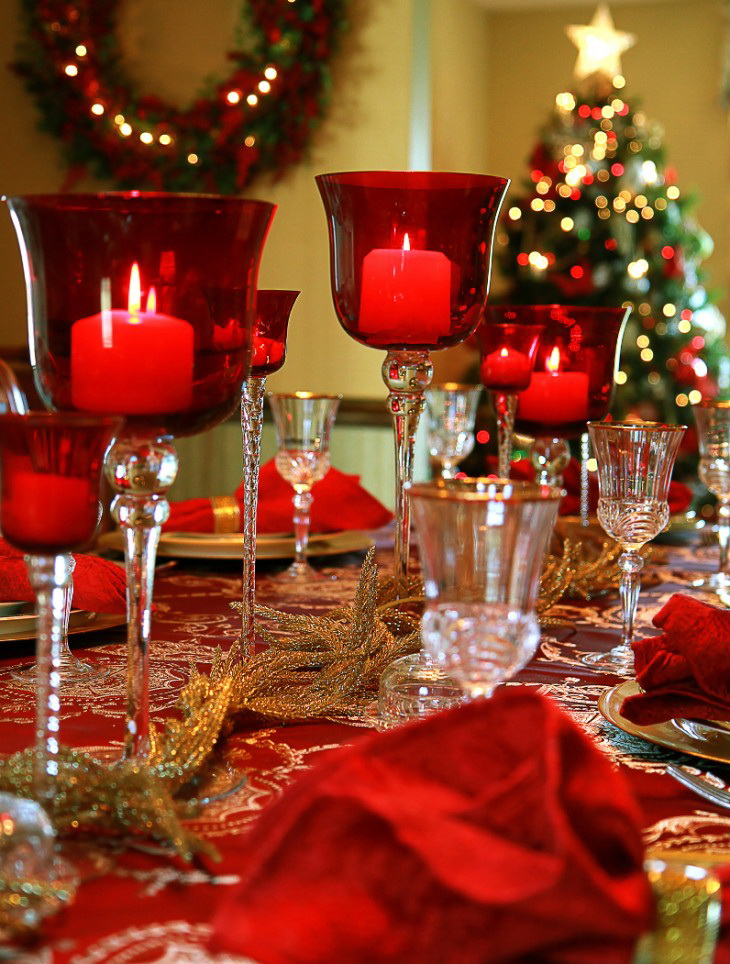 50 stunning christmas table settings style estate for Christmas decoration 94