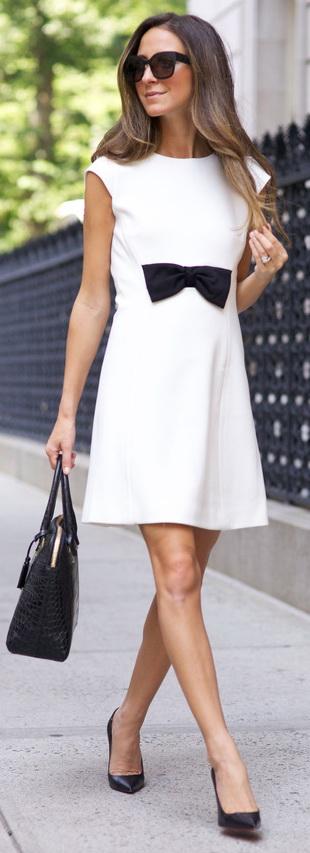 Dress: Kate Spade / Bag: Kate Spade / Shoes: Christian Louboutin / Sunnies: Bottega Venetta