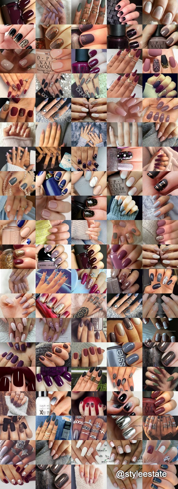 101 Nail Art Ideas That Are Trending Hot Right Now (F/W) 2016