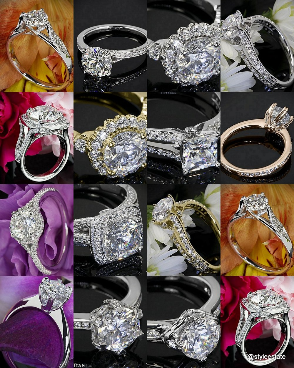 Ritani x Whiteflash = 12 Stunning Diamond Engagement Rings