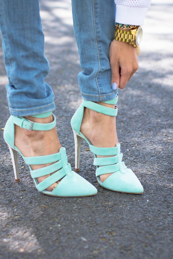 Heels that make a state-mint.