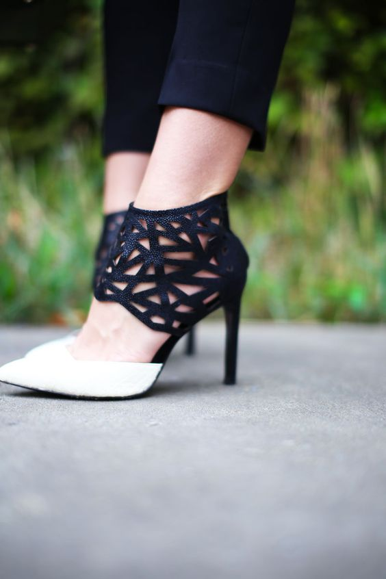 Perforated perfection.