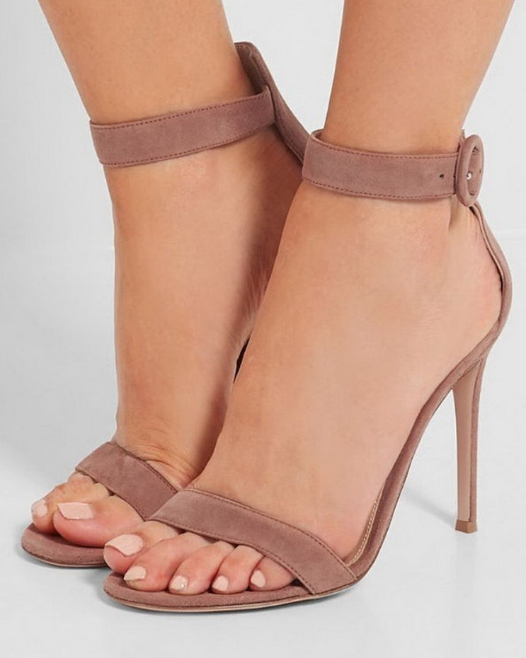 Gianvito Rossi #suede #sandals