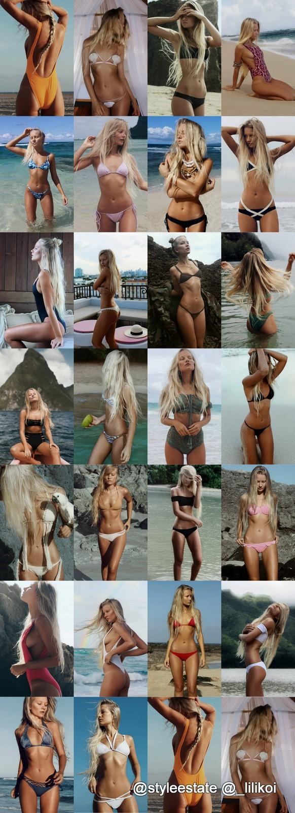 IG Model @_lilikoi's Top 26 Bikinis & Swimsuits 2016