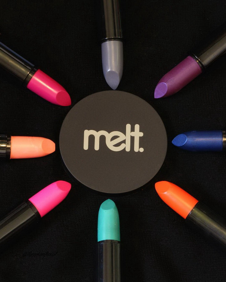 I can't still get over @meltcosmetics lipsticks! One of the best ones that I have tried! 🙌🏻 #meltcosmetics #lipstick