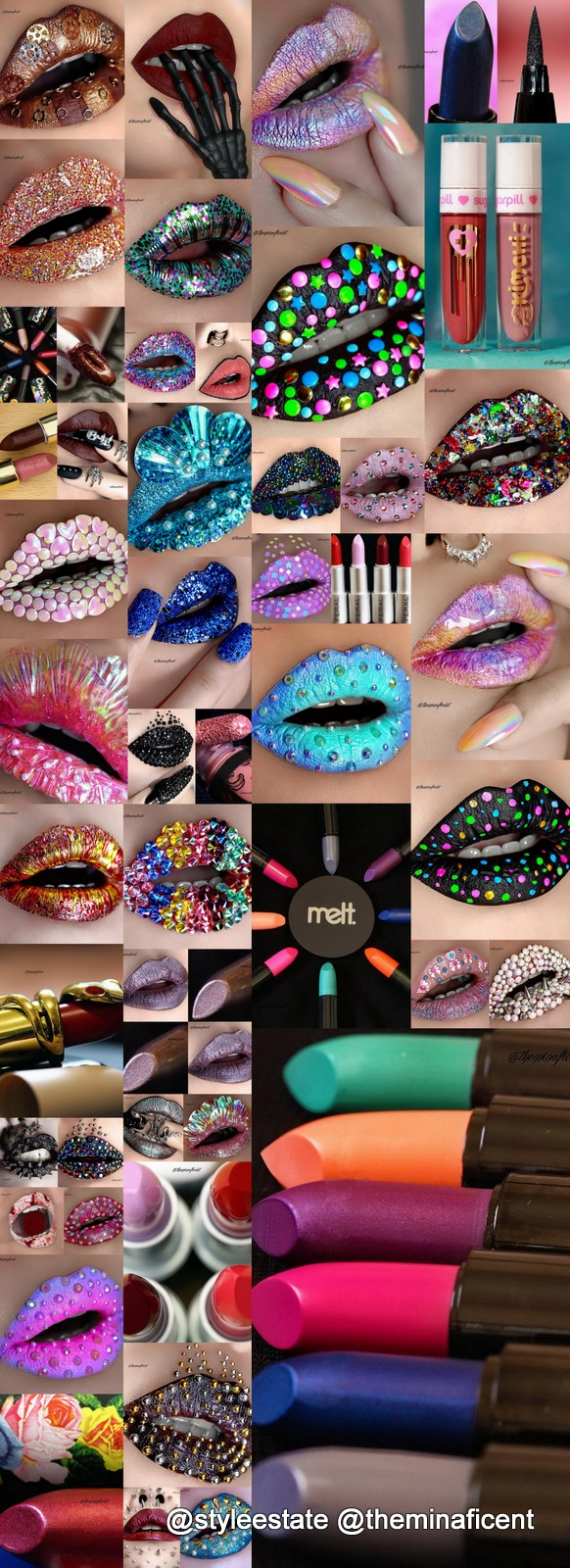 36✨Spectacular✨🆒🆕💋Lip-Art Designs ➕ 14 Product Deets✔️By @theminaficent