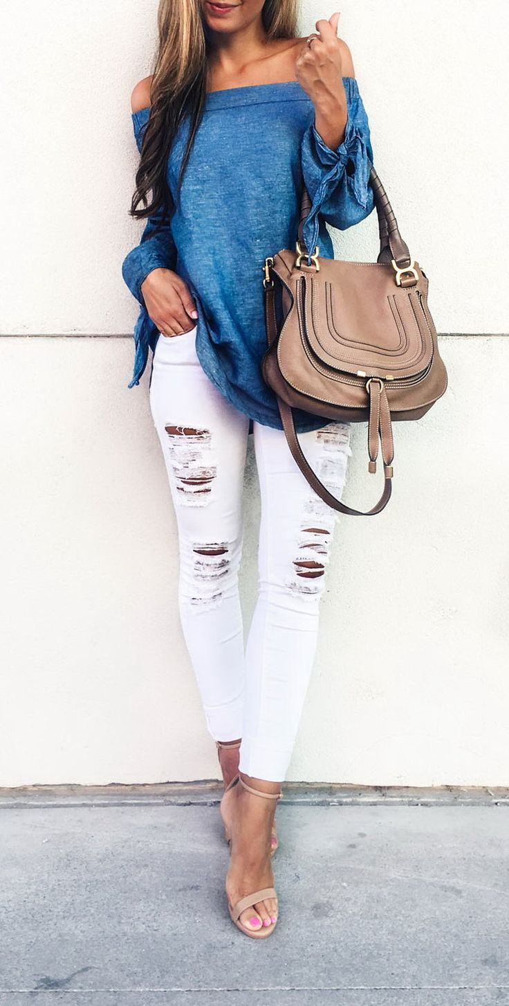 White Jeans Summer
