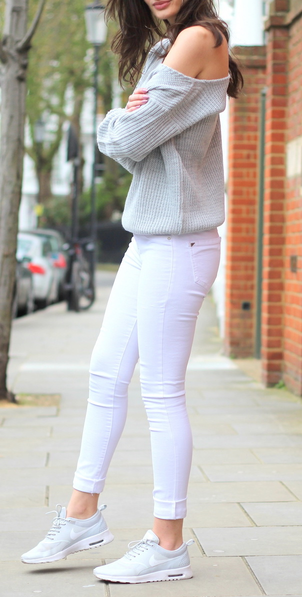 Spring Basics: White Jeans | Peexo http://www.peexo.co.uk