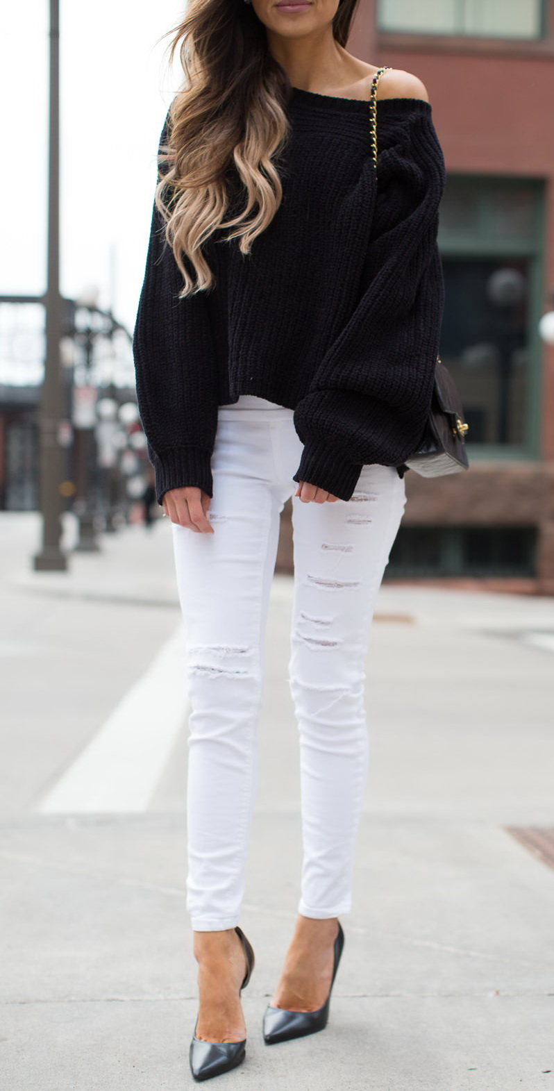Topshop White Skinny Jeans