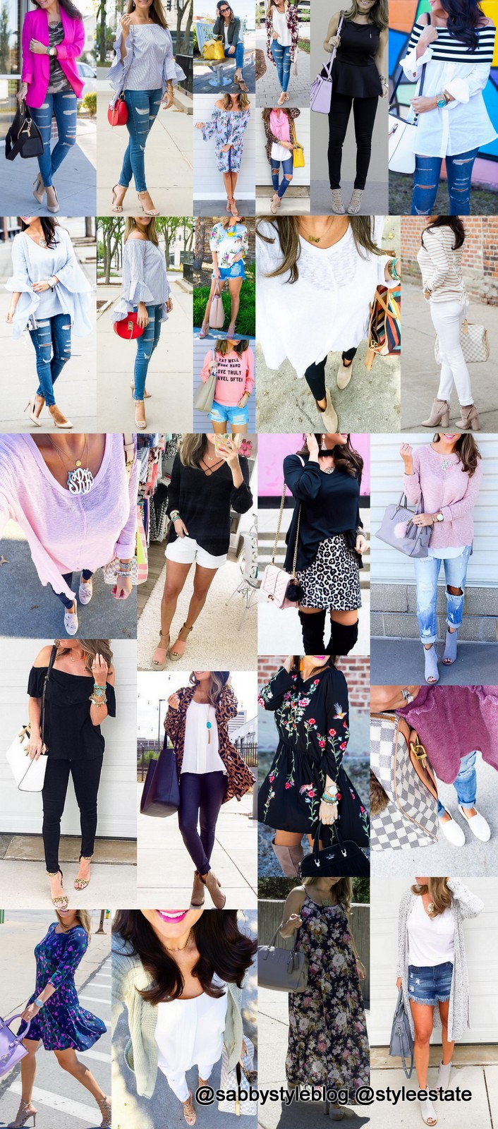 Who To Follow: Sara @sabbystyleblog + 29 🔥🔥🔝 Outfits for 🌺☀️