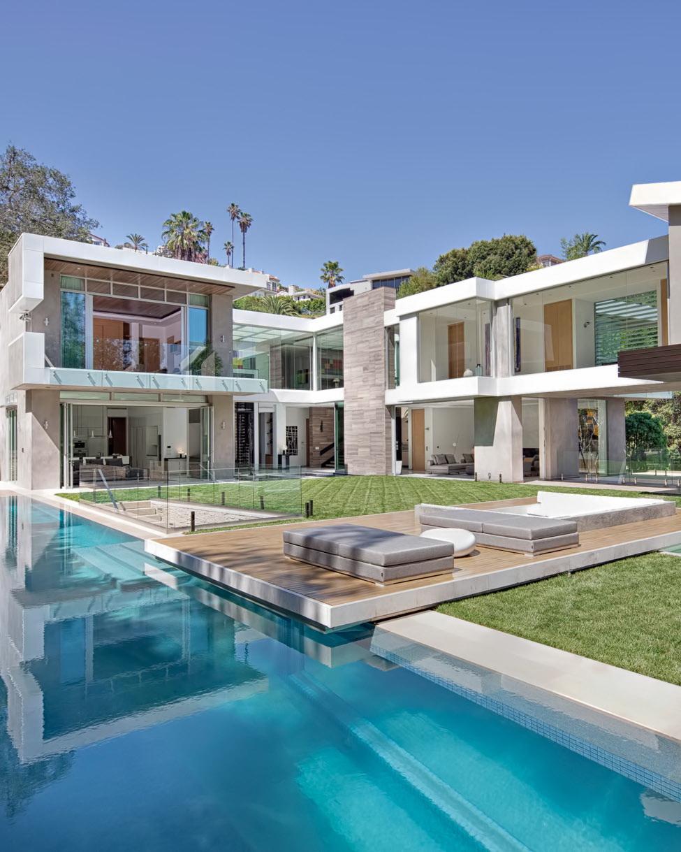 Luxury Residence – 1307 Sierra Alta Way, Los Angeles, CA
