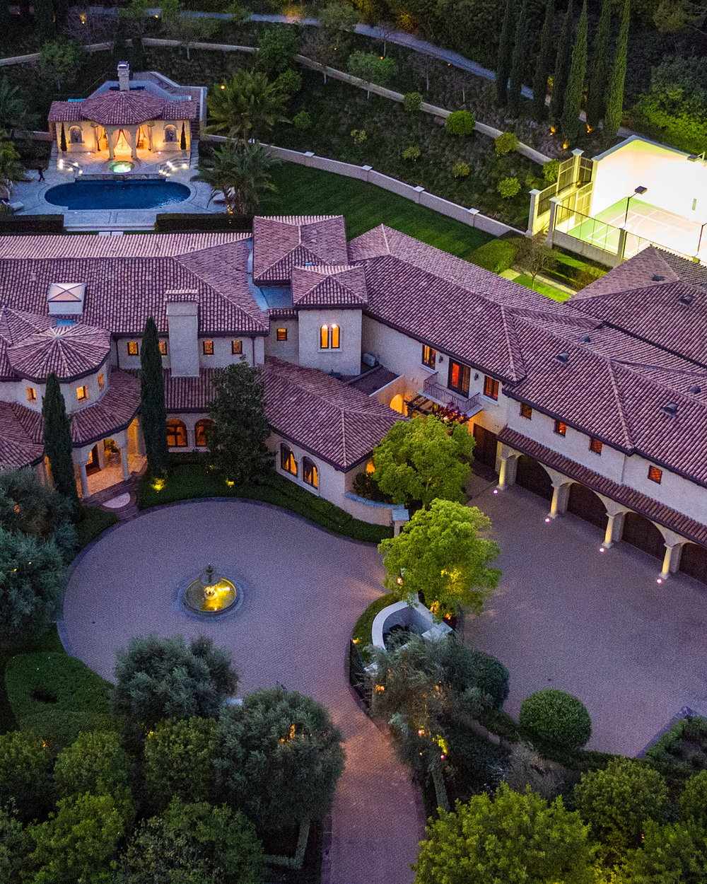 Tuscan-Inspired Beverly Hills Villa