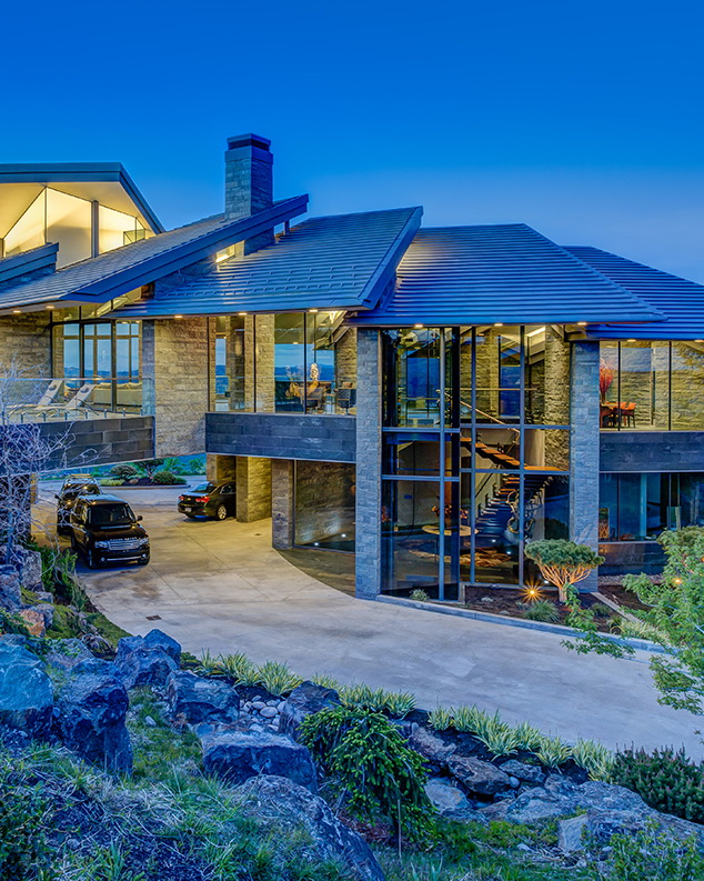 CASCADE – Architecture by Wallace Cunningham - $25,000,000 Park City, Utah Mansion by Ben Becal Realty