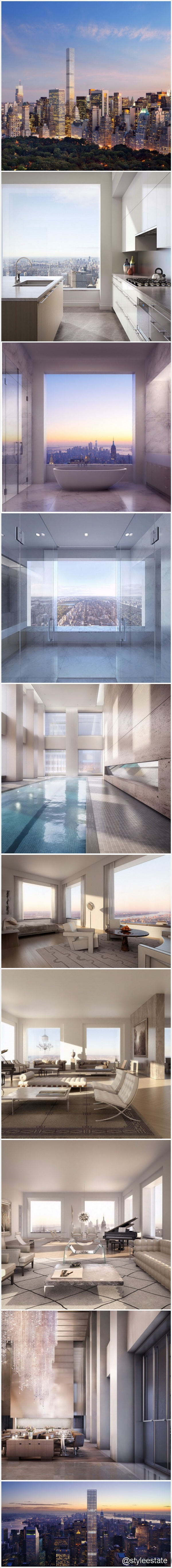 Stunning NY Penthouse Views From 432 Park Ave