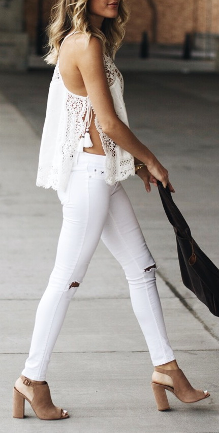 Summer Whites http://www.lindsaymarcella.com/outfits/summer-whites/