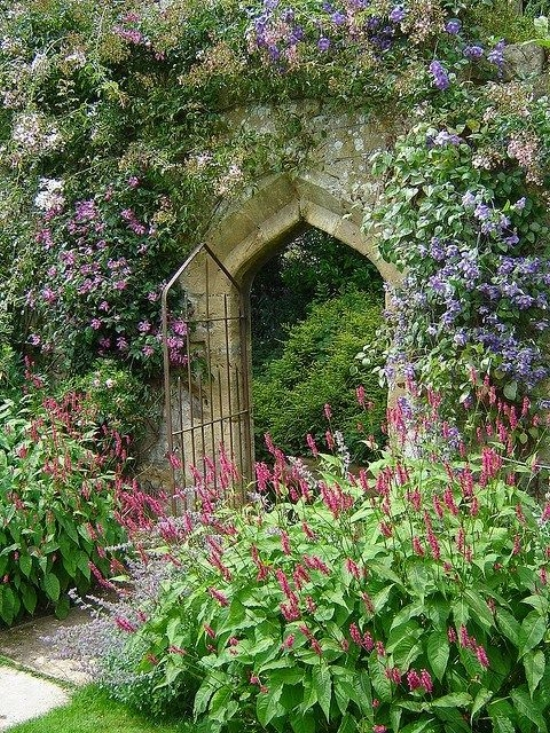 Sudeley Castle Gardens ~ Style Estate - 15 Gorgeous Garden Gates