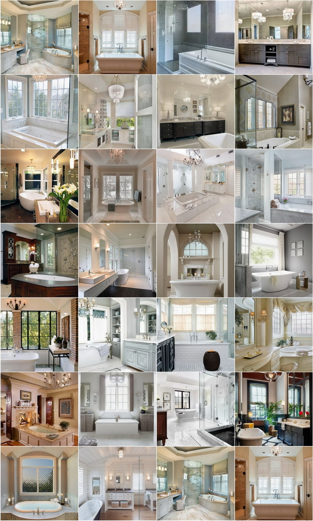 26 Luxurious & Modern Master Bathroom Designs