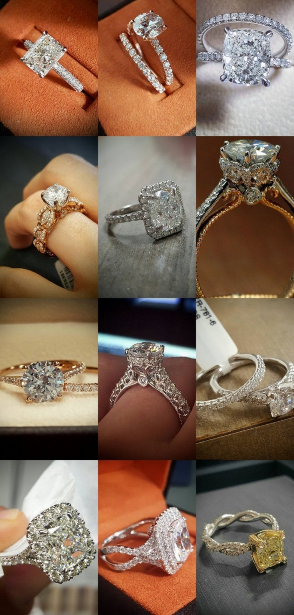 15 Stunning Engagement Rings by @DiamondMansion