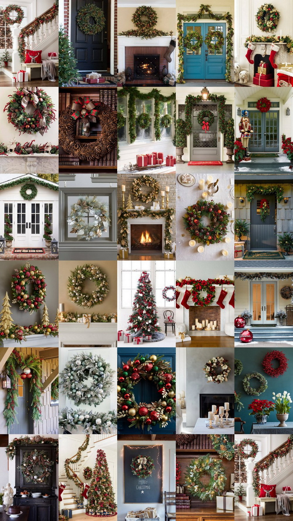 29 Dazzling Pre-Decorated Christmas Wreaths @BalsamHill