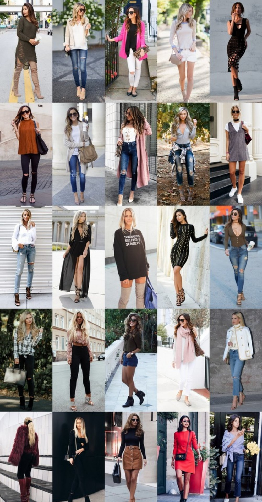 What's Trending - 34 Outfits (Fall) 2016