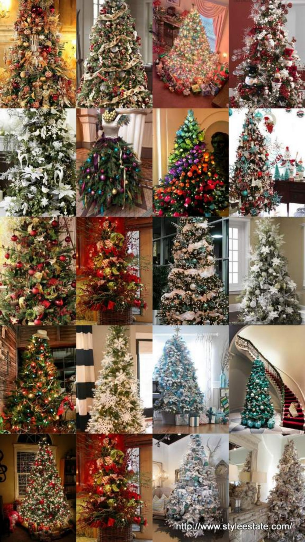 20 awesome christmas tree decorating ideas inspirations style - Awesome Christmas Trees