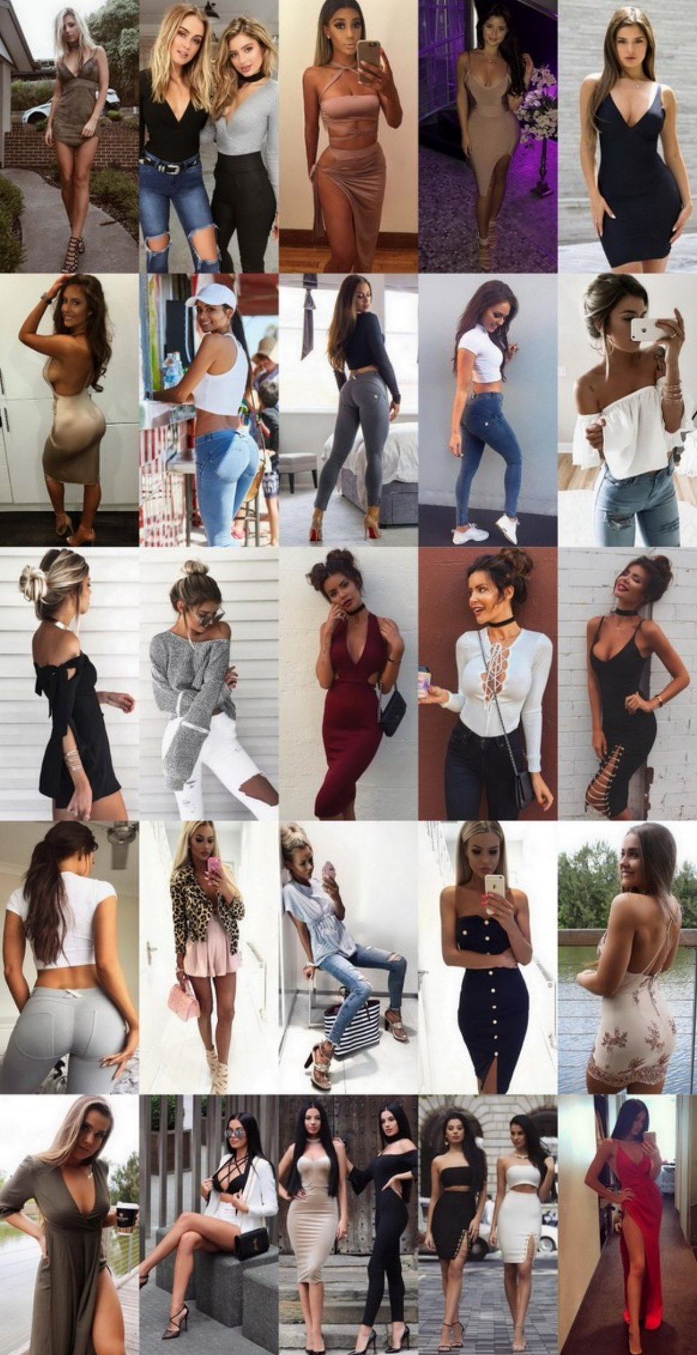 What's Trending - 34 Outfits (S/F) 2016