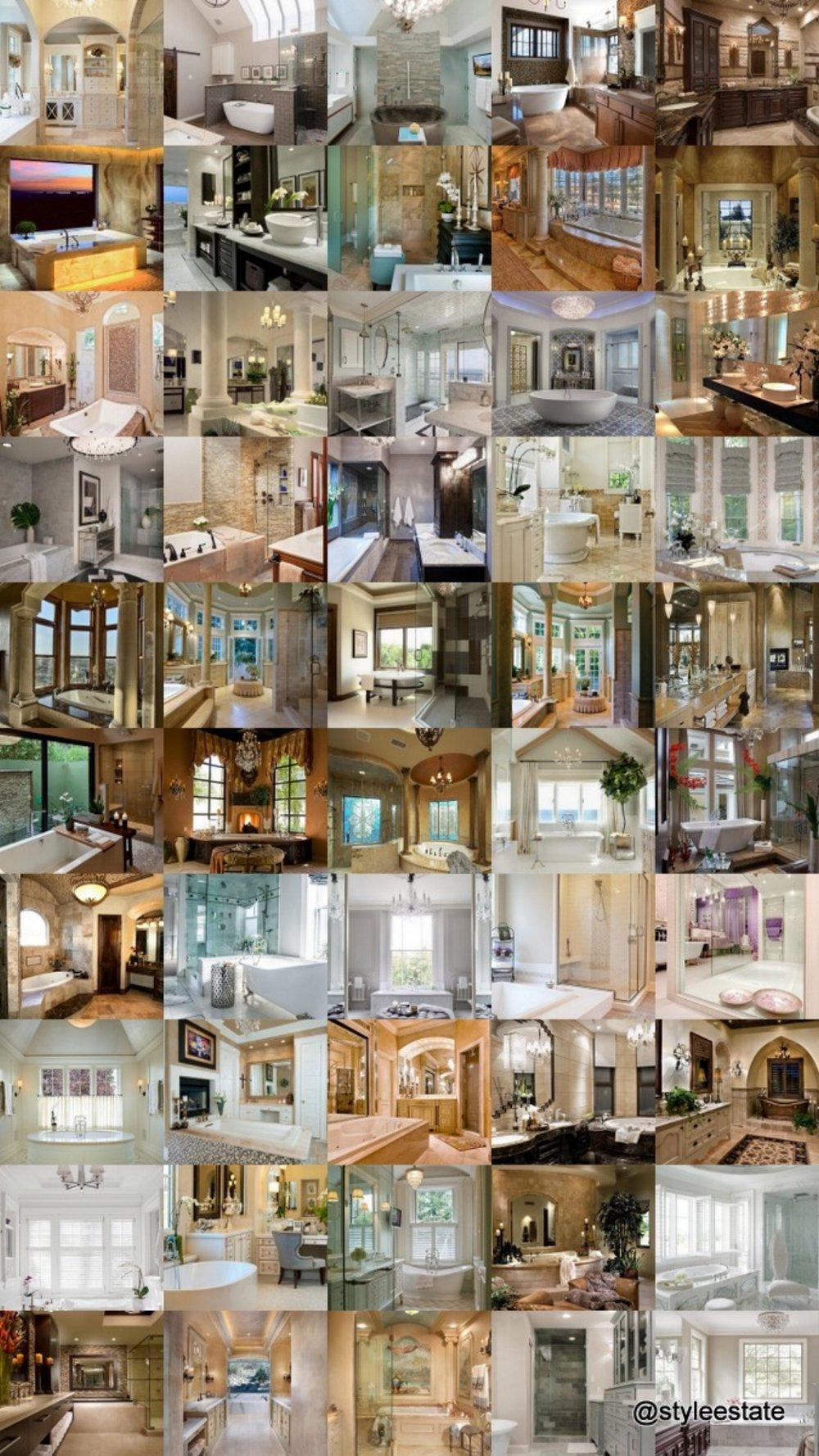 25 Amazing Bathroom Designs - Style Estate -