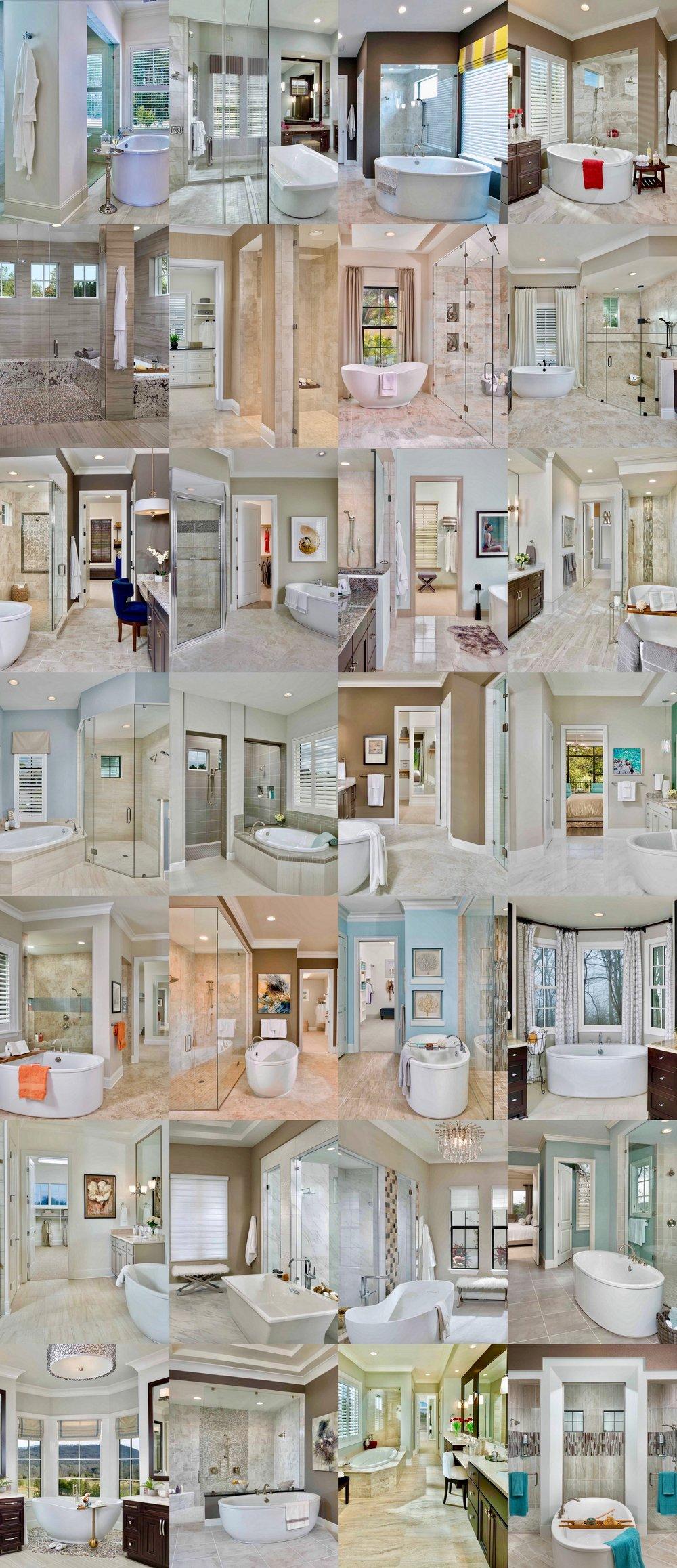 28 Arousing Master Bathroom Designs @arthurrutenberg