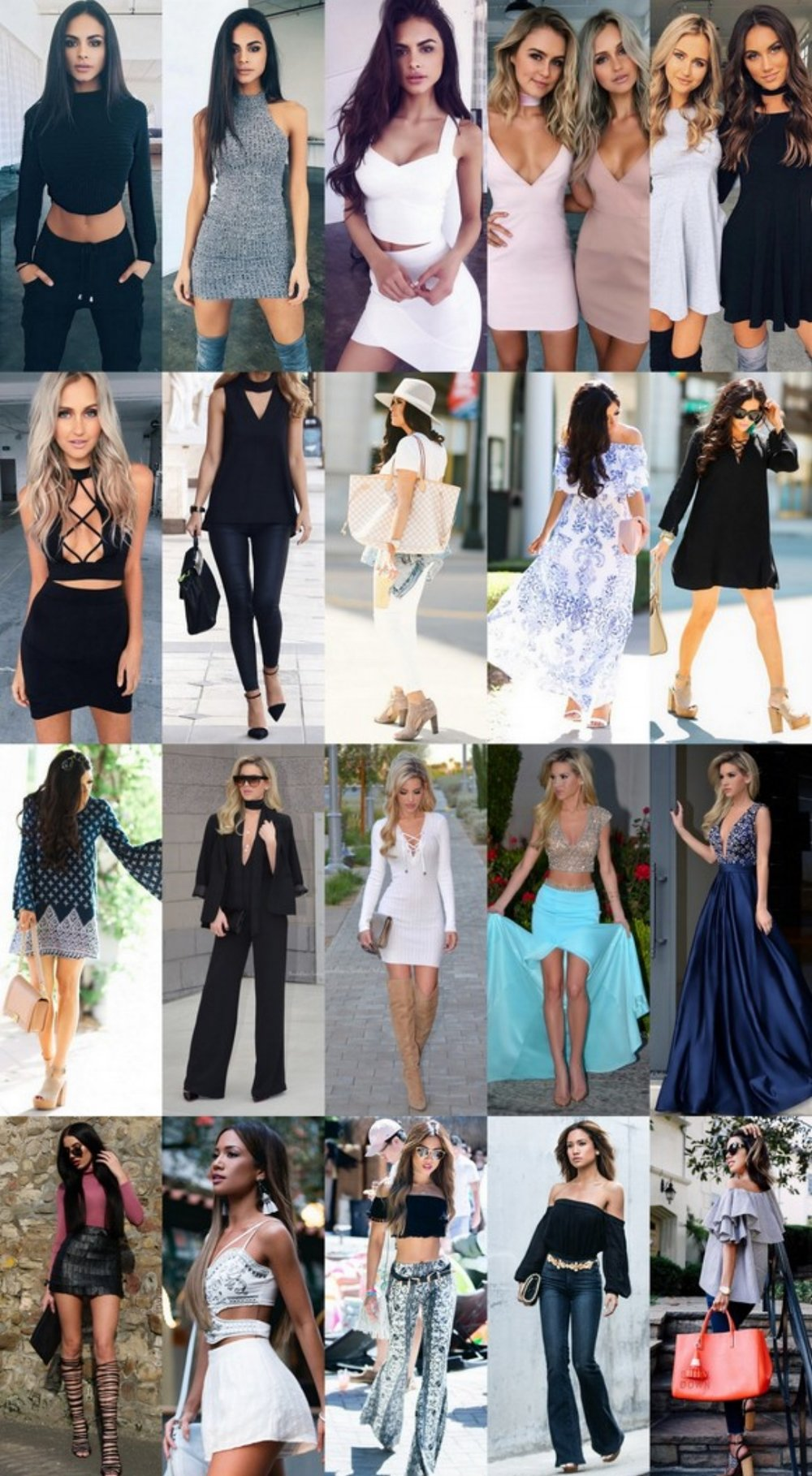 What's Trending - 30 Outfits (S/S 2016)