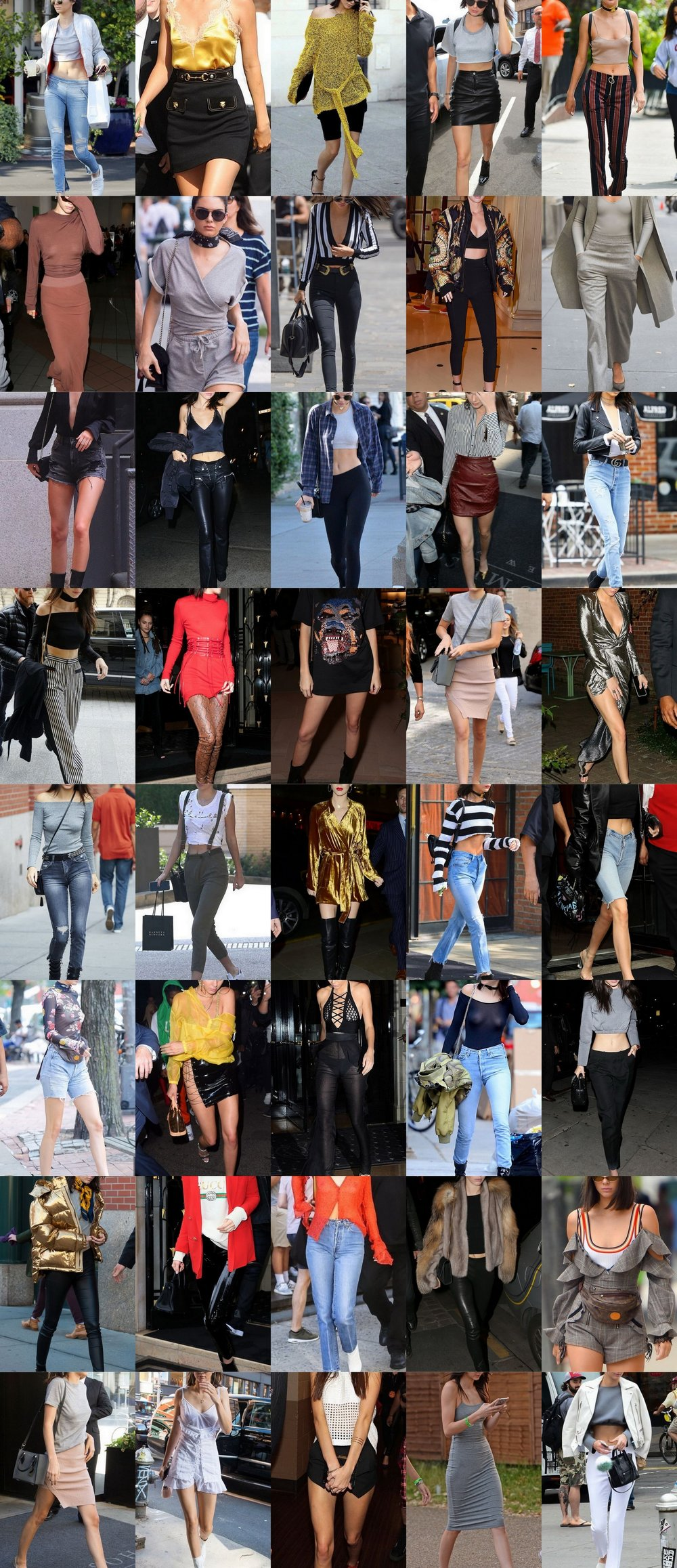 ⭐️ 40 Gorgeous-Kendall Jenner Street Style Outfits