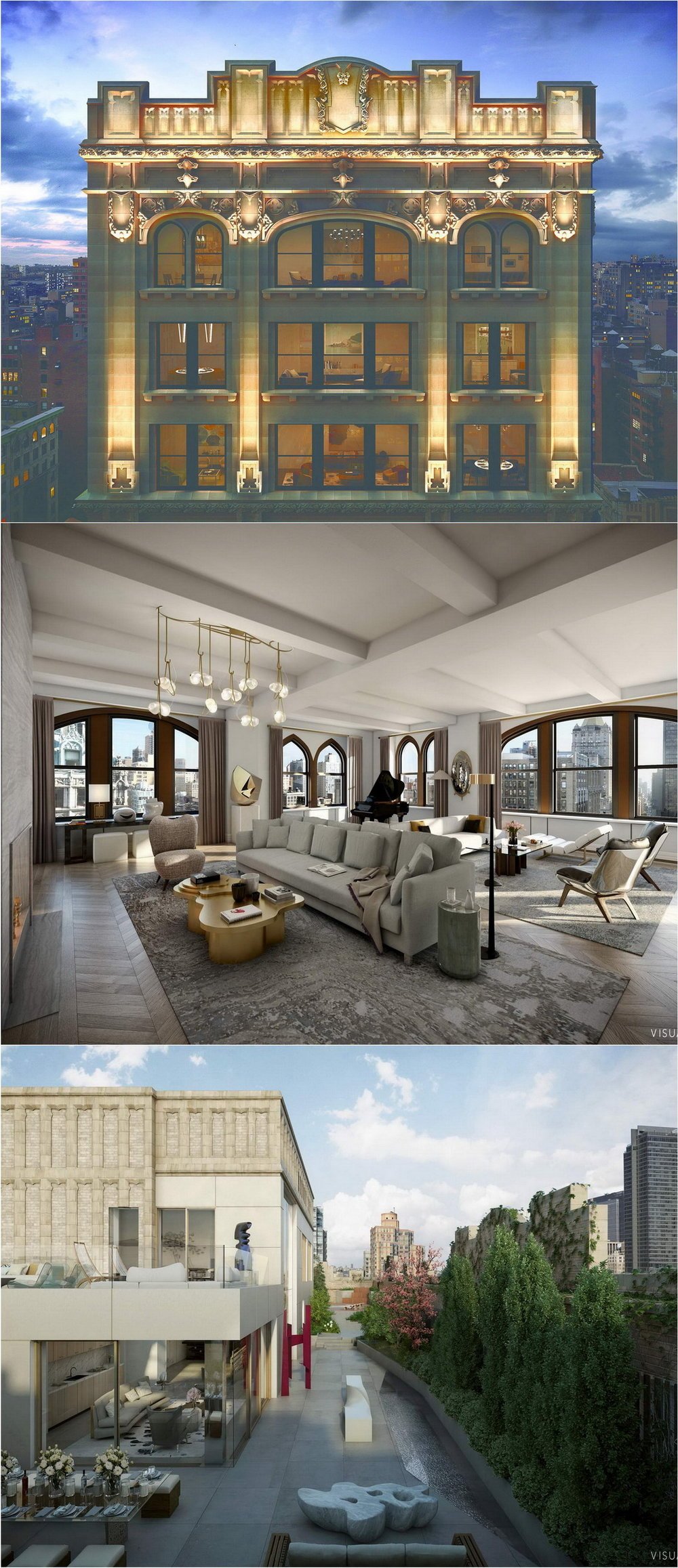 Crown Penthouse At 212 Fifth Avenue