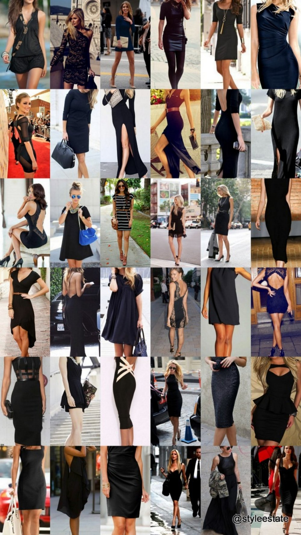 36 Chic Little Black Dress Outfits - Style Estate- #LBD