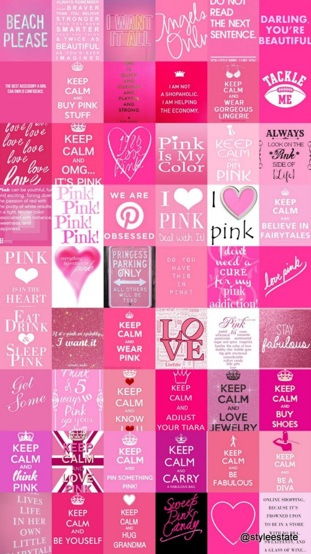 54 Pretty Pink Quotes and Posters @styleestate