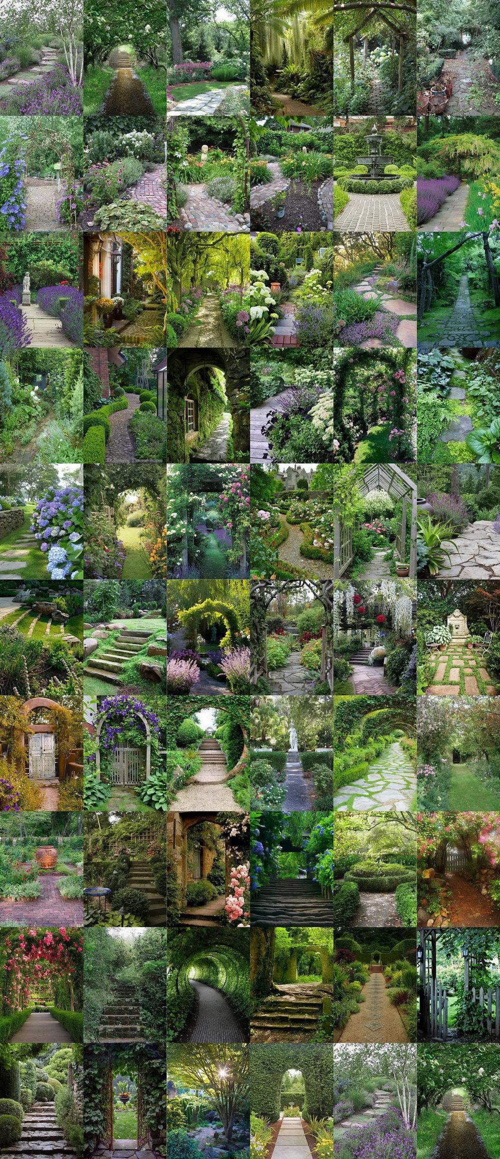 61 Magical-Secret Garden Paths
