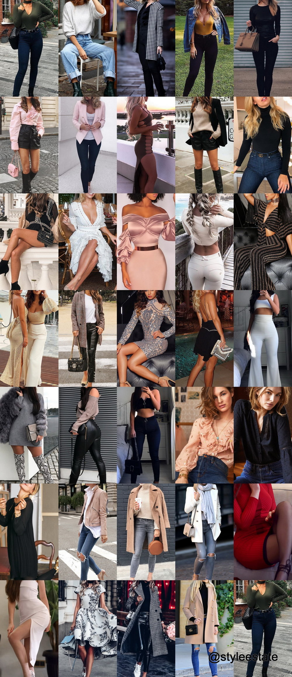 Trending Styles - 35 Fresh Outfits To Pick Up
