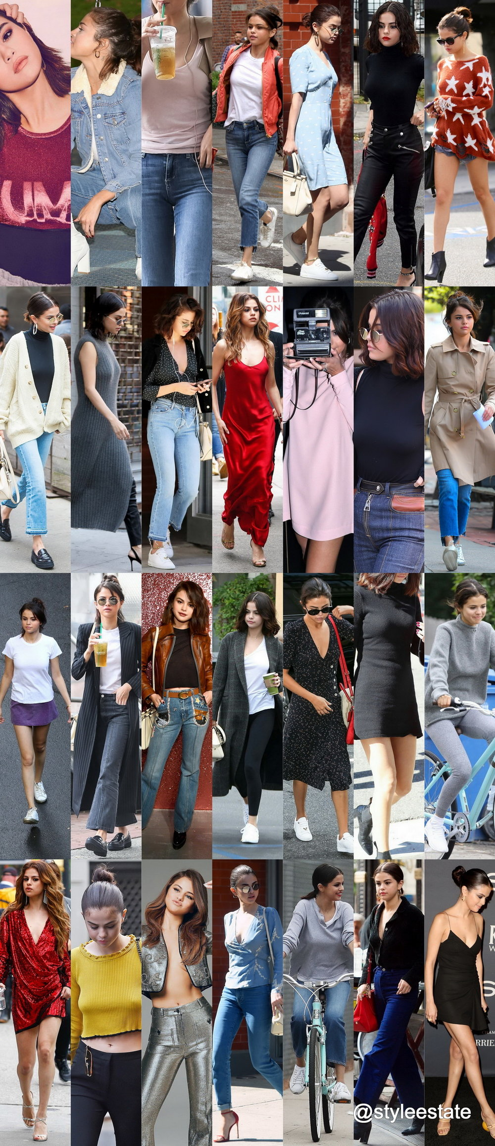 29 Cute-Lil Selena Gomez streetStyle Outfits