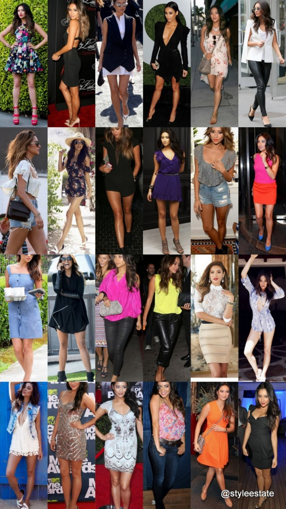 25 Gorgeous Shay Mitchell Summer Outfits