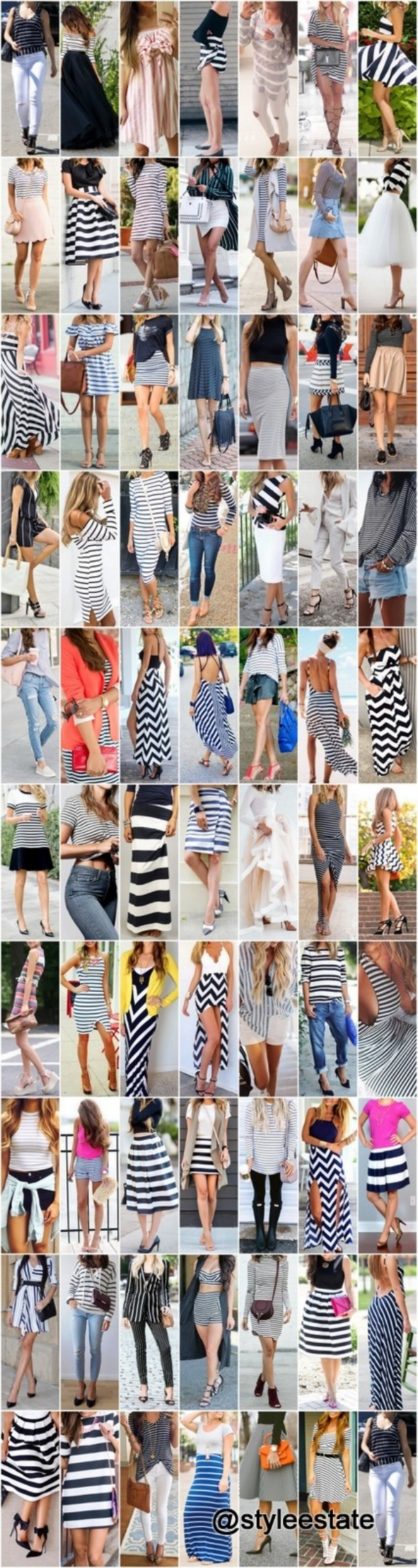 75+ Striped Outfits To Copy This Year