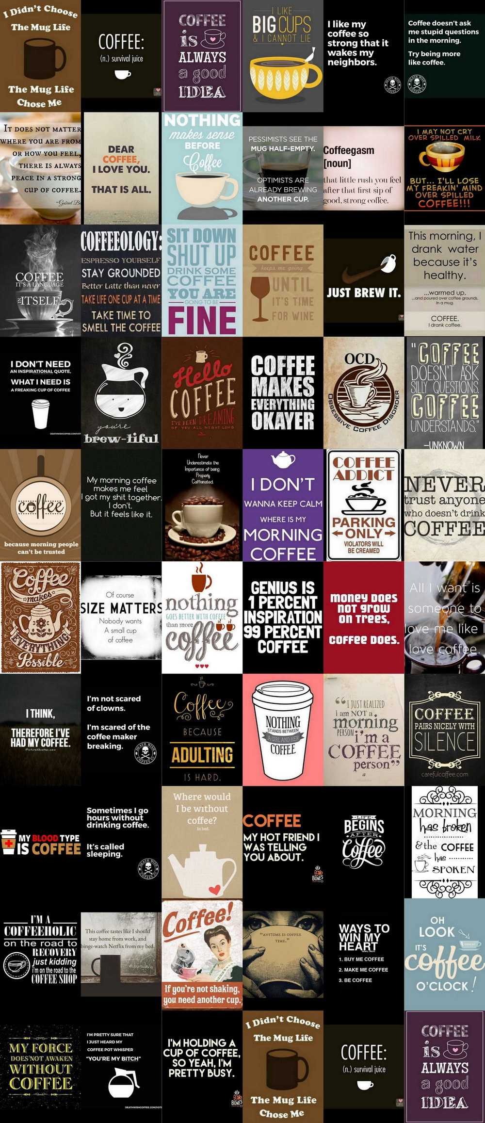 66 Clever Quotes About Coffee