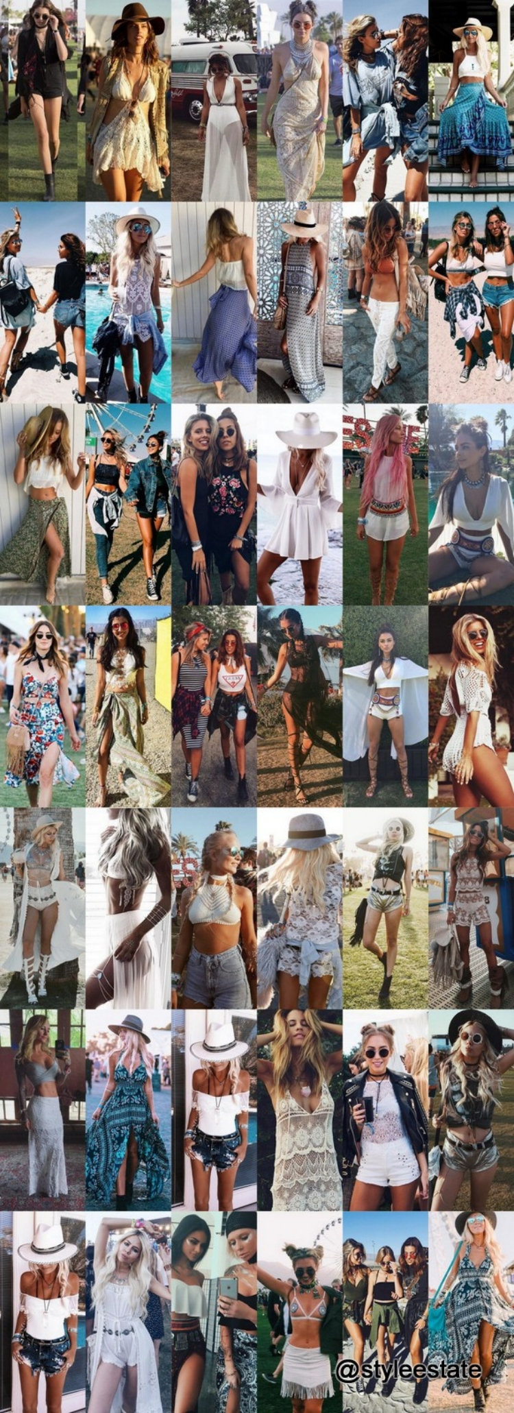 42 Coachella Inspired Festival Style Outfits To Try This Summer