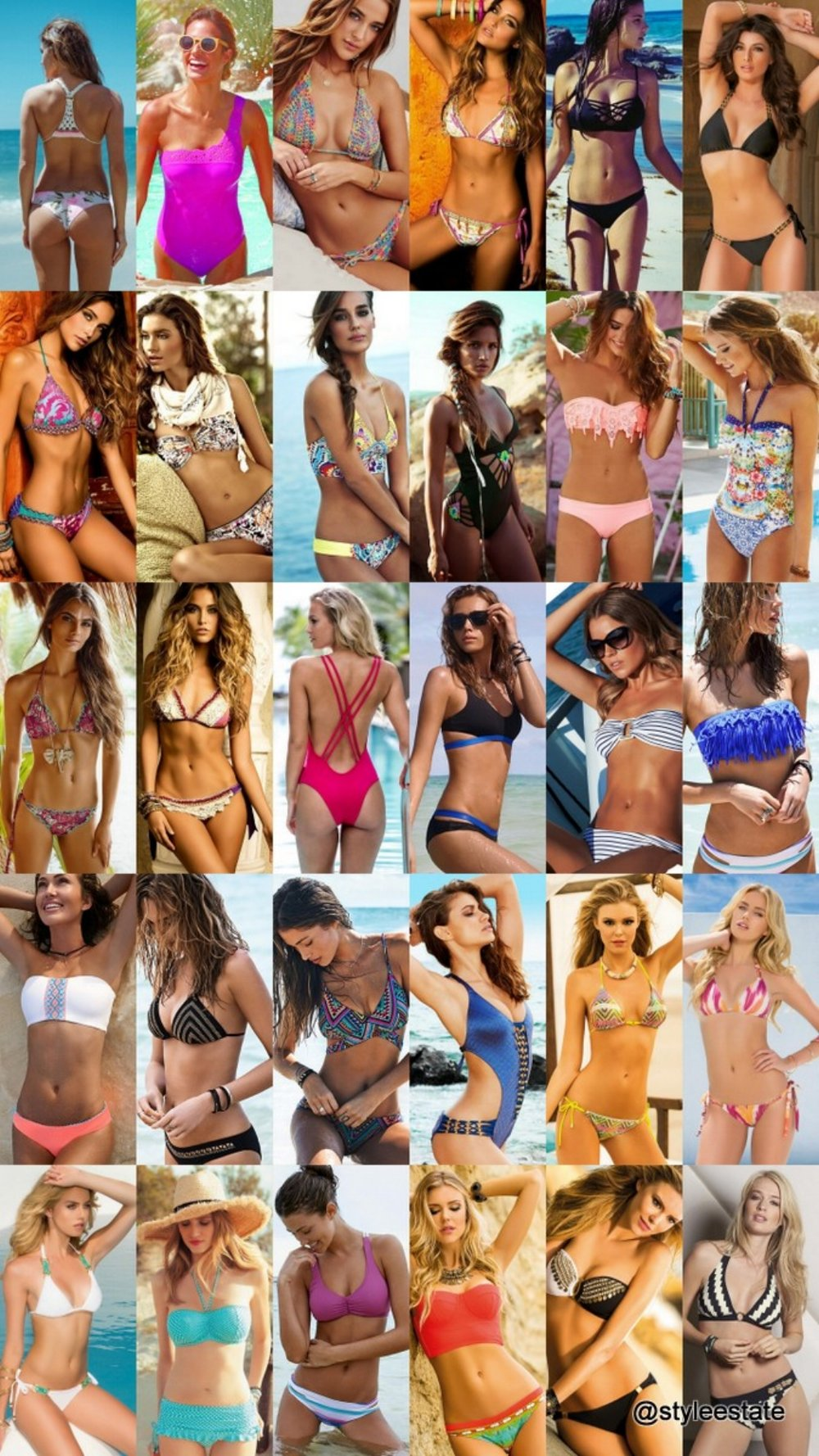 25 Gorgeous Bikinis & Swimsuits For Your 2015 Lookbook - Style Estate -